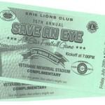 SAE 2013 Tickets